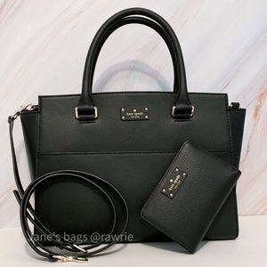 New Kate Spade Lana Satchel & Matching Wallet Set
